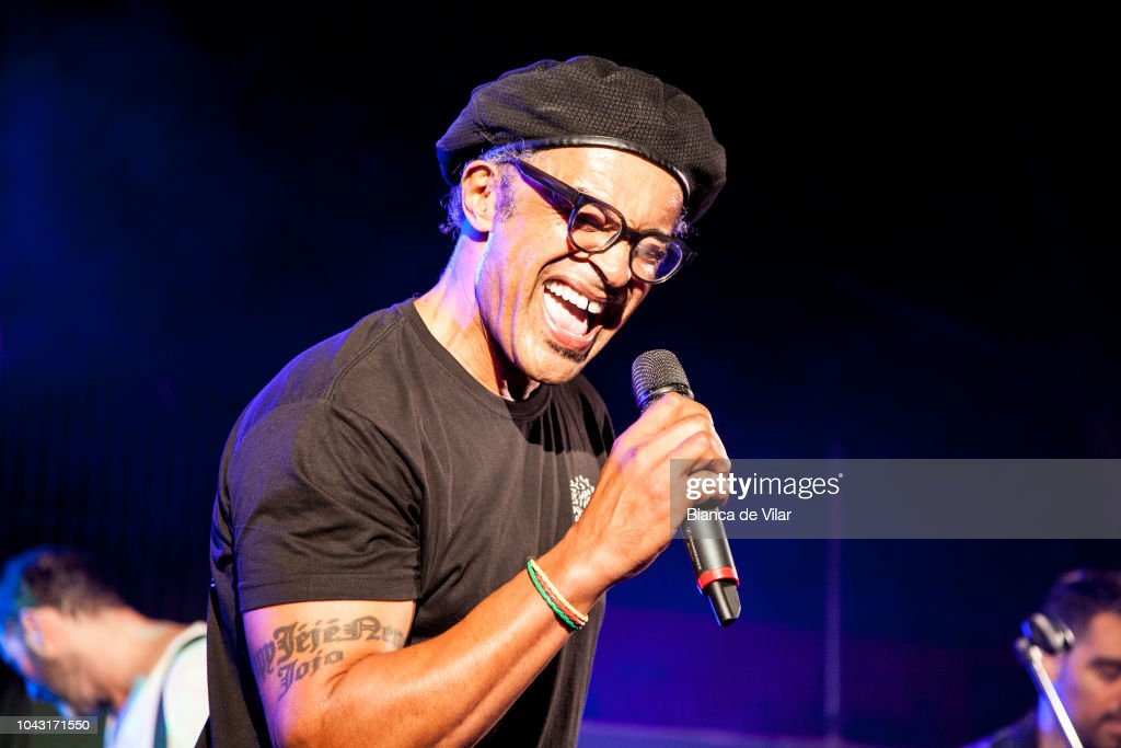 Yannick Noah Performs On Clausure Concert Of  Senior Masters Cup : News Photo