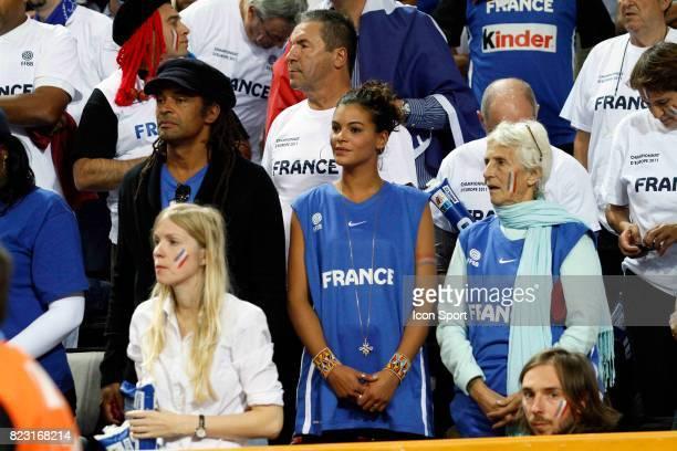 Yannick NOAH / Yelena NOAH / Marie Claire NOAH - - France / Russie - 1/2 Finale Championnat d'Europe -Kaunas,