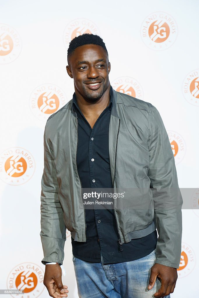 Yannick Nyanga attends the Roland Garros Players' Party at Grand Palais on May 19, 2016 in Paris, France.