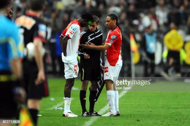Yannick SAGBO / Clement TURPIN / Juan Pablo PINO Paris Saint Germain / Monaco Finale Coupe de France Stade de France