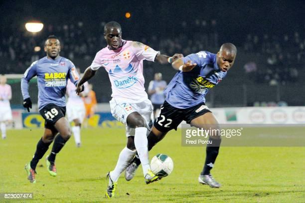 Yannick SAGBO / Yacouba SYLLA Evian Thonon Gaillard / Clermont Foot 27eme journee de Ligue 2