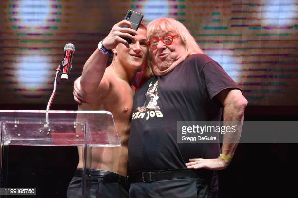 Yannis Paluan of BelAmi and Comedian Bruce Vilanch attends Gay Porn's Biggest Night - Str8UpGayPorn Awards, Hosted By Kathy Griffin at Avalon Theater...