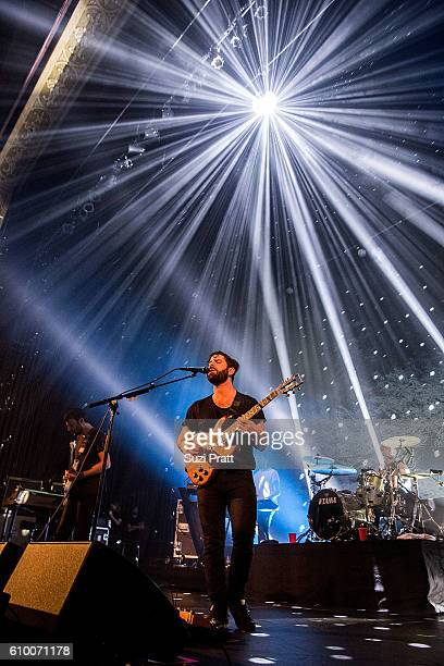 Yannis Philippakis of Foals performs at Paramount Theatre on September 23 2016 in Seattle Washington