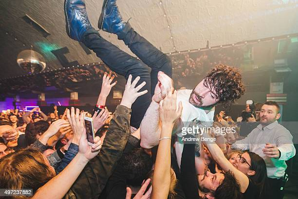 Yannis Philippakis of Foals performs on stage during day 2 of By The Sea Festival at Dreamland on November 14, 2015 in Margate, England.