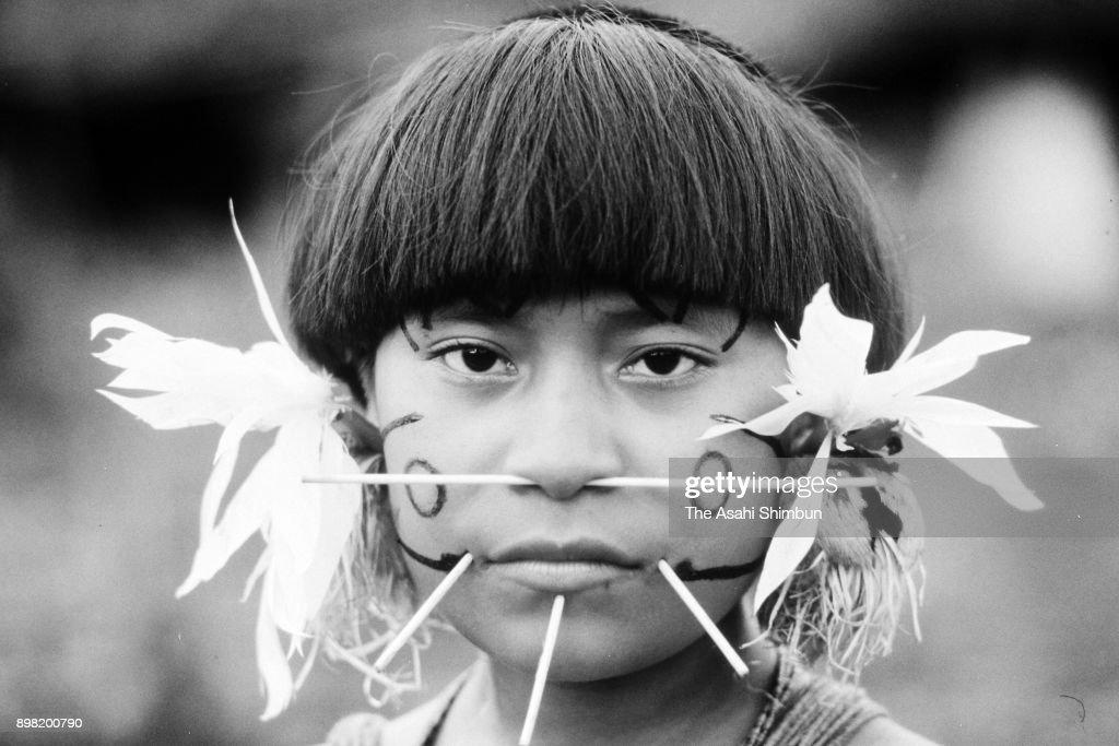 Yanomami Indigenous People : News Photo