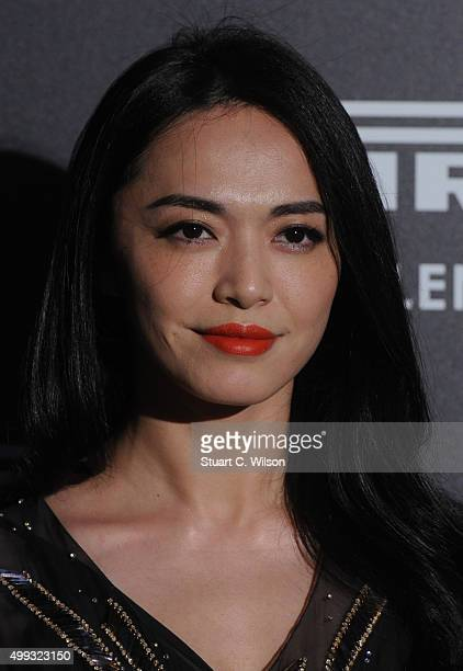Yao Chen attends the Gala Evening To Celebrate The Pirelli Calendar 2016 By Annie Leibovitz at The Roundhouse on November 30 2015 in London England