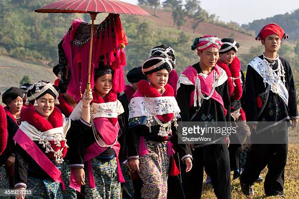 Yao Hill Tribe Clan Wedding