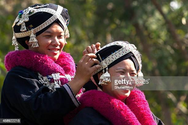 Yao Hill Tribe Girls