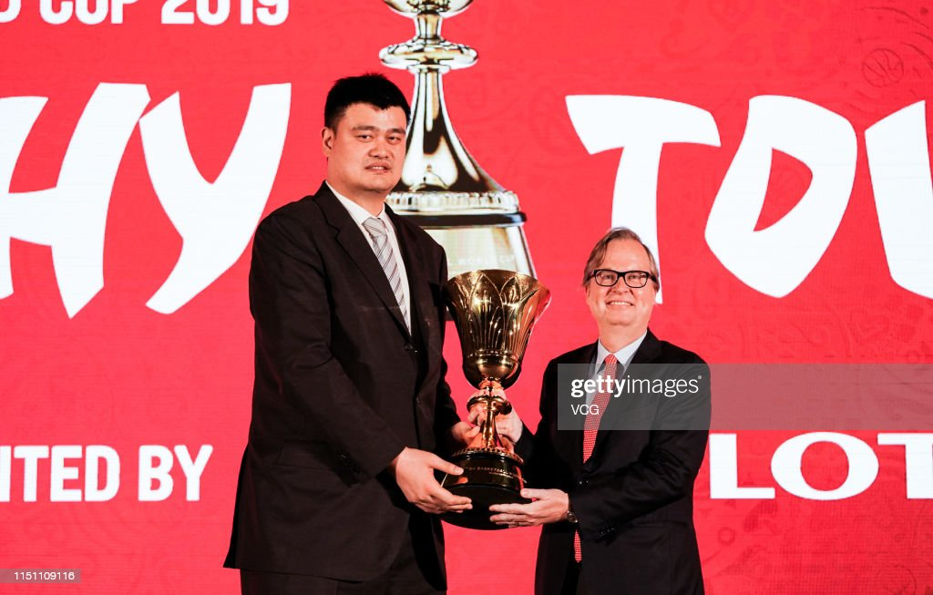 CHN: FIBA Basketball World Cup 2019 - 100-Day Countdown Press Conference