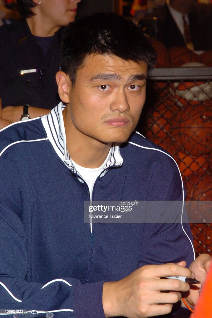 """Yao Ming Signs His New Book """"Yao: A Life in Two Worlds"""""""