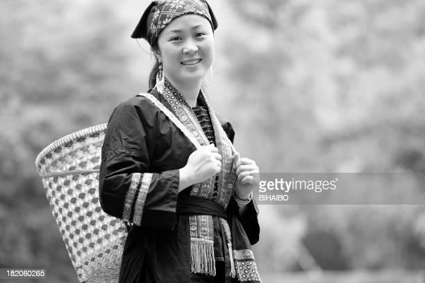ヤオ族の女性