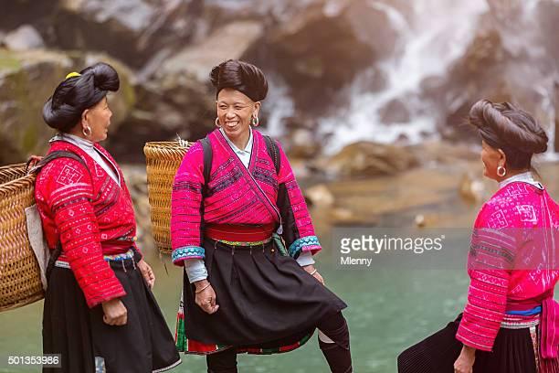 ヤオ族の女性 Longsheng 、中国