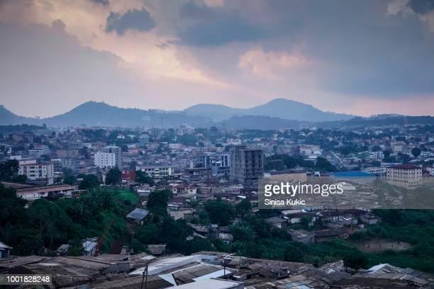 yaounde, cameroon - cameroun photos et images de collection