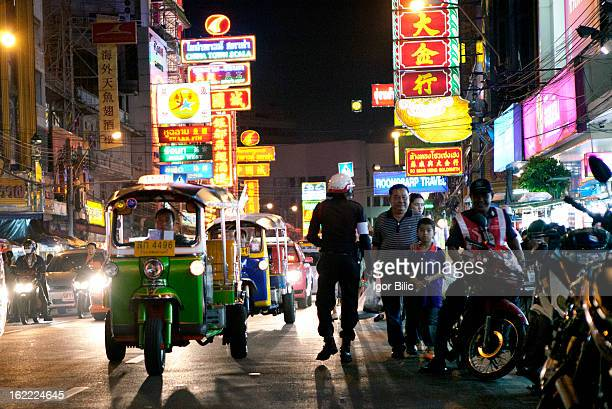 CONTENT] Yaowarat Road in Samphanthawong district is home to Bangkoks Chinatown which is centred on Sam Pheng Lane It has been the main centre for...