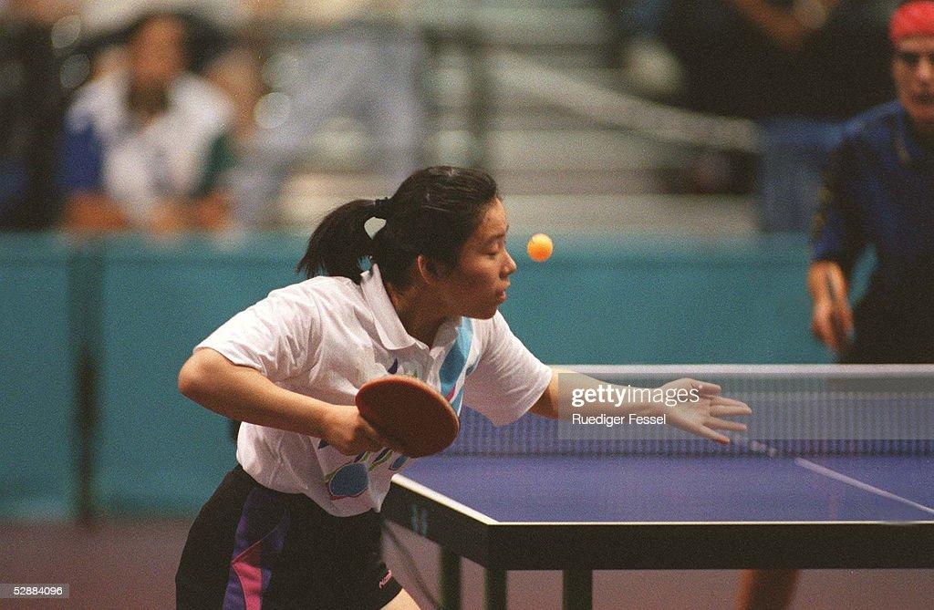 TISCHTENNIS: ATLANTA 1996, 29.07.96 : News Photo