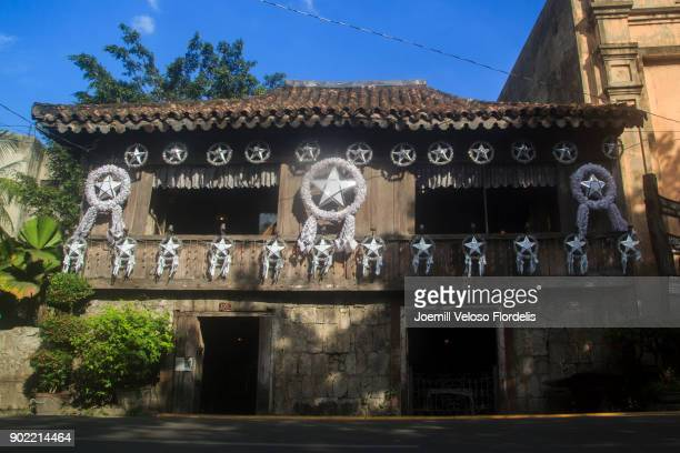 yap-sandiego ancestral house (cebu city, philippines) - joemill flordelis stock pictures, royalty-free photos & images