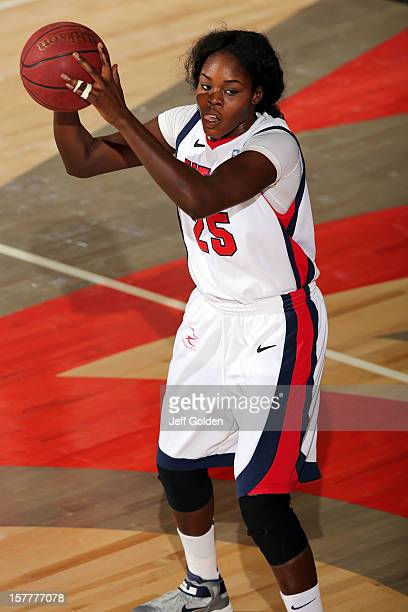 Yar Shayok of the Detroit Titans looks to play the ball against the South Alabama Jaguars at The Matadome on November 24 2012 in Northridge...