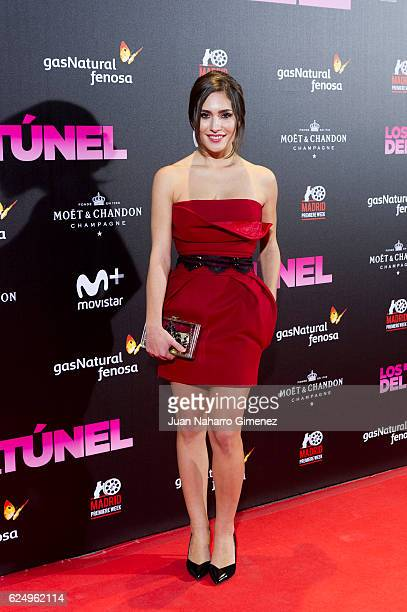Yara Puebla attends 'Los Del Tunel' premiere during the Madrid Premiere Week at Callao Cinema on November 21 2016 in Madrid Spain