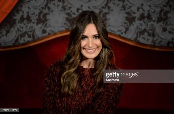 Yara Puebla attends 'Muchos hijos un mono y un castillo' premiere at Callao Cinema in Madrid on 13th December 2017