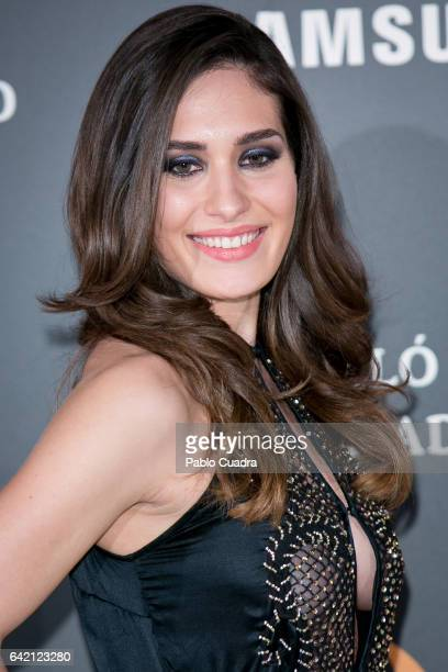 Yara Puebla attends the 'Yo Dona' party that inaugurates MercedesBenz Fashion Week Madrid Autumn/ Winter 2017 at Barcelo Torre de Madrid Hotel on...