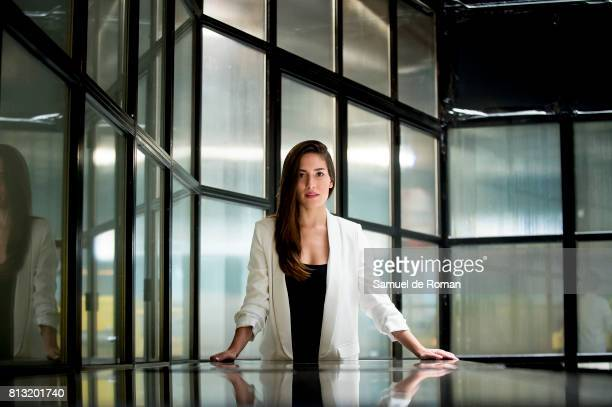 Yara Puebla Portrait Session in Only you Hotel Atocha on July 6 2017 in Madrid Spain