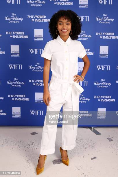 Yara Shahidi, actor and Gen Z activist, black-ish, grown-ish poses for a photograph during The Power Of Inclusion Summit 2019 at Aotea Centre on...