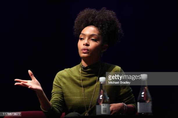 Yara Shahidi, actor and Gen Z activist, black-ish, grown-ish speaks during The Power Of Inclusion Summit 2019 at Aotea Centre on October 04, 2019 in...