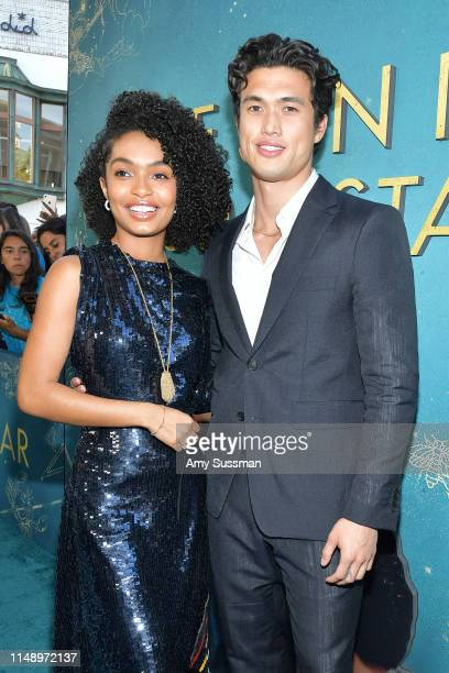 Yara Shahidi and Charles Melton attend the world premiere of Warner Bros The Sun Is Also A Star at Pacific Theaters at the Grove on May 13 2019 in...