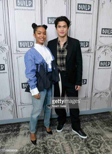 Yara Shahidi and Charles Melton visit Build Series to discuss The Sun Is Also a Star at Build Studio on May 16 2019 in New York City