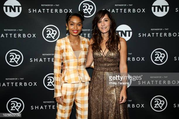 Yara Shahidi and Gillian Barnes celebrate Shatterbox with Refinery 29 and TNT during 2018 Toronto International Film Festival at TIFF Bell Lightbox...