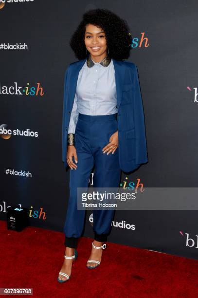 Yara Shahidi attends ABC's 'Blackish' FYC Event at Television Academy on April 12 2017 in Los Angeles California