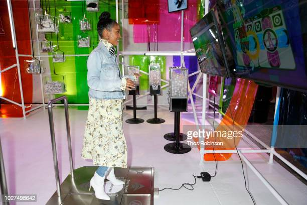 Yara Shahidi attends Aldo Collaborates With Refinery 29 On '29 Rooms' on September 5 2018 in New York City