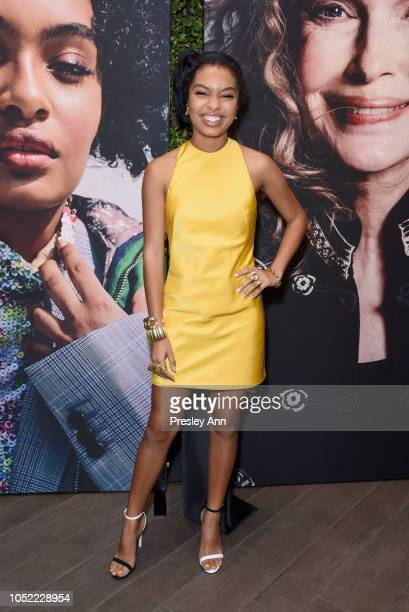 Yara Shahidi attends ELLE's 25th Annual Women In Hollywood Celebration presented by L'Oreal Paris Hearts On Fire and CALVIN KLEIN at Four Seasons...