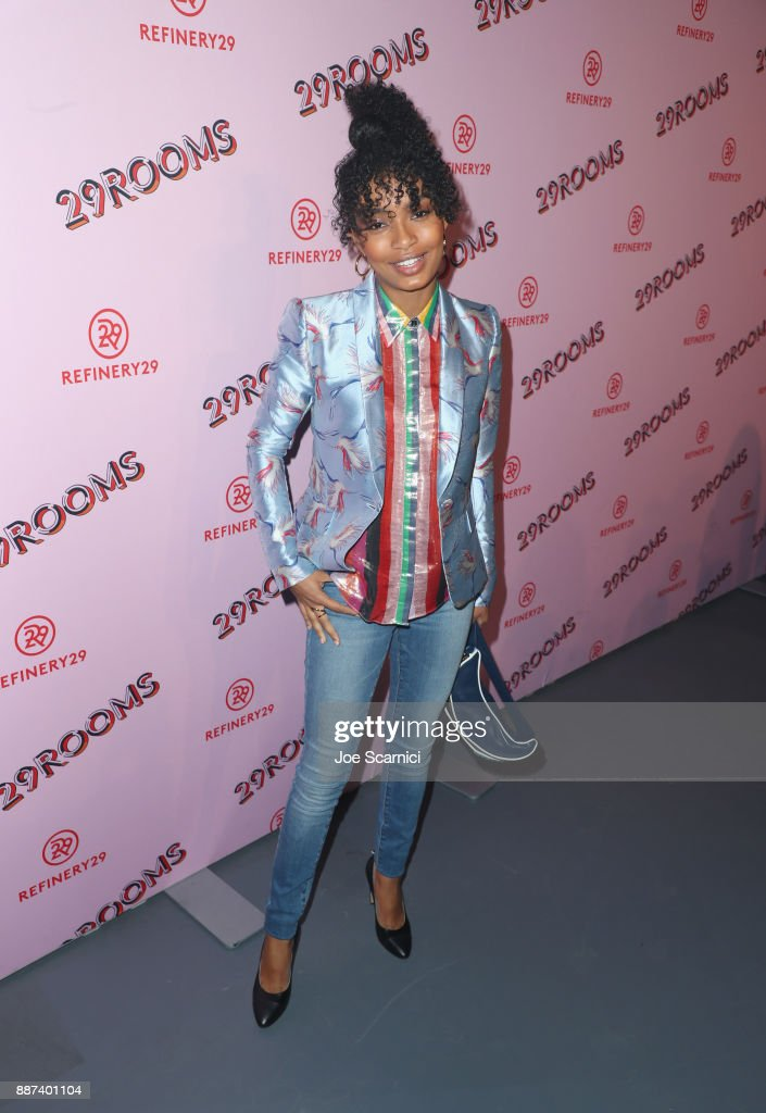 Yara Shahidi attends Refinery29 29Rooms Los Angeles: Turn It Into Art Opening Night Party at ROW DTLA on December 6, 2017 in Los Angeles, California.