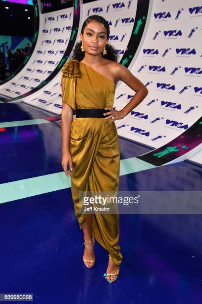Yara Shahidi attends the 2017 MTV Video Music Awards at The Forum on August 27 2017 in Inglewood California