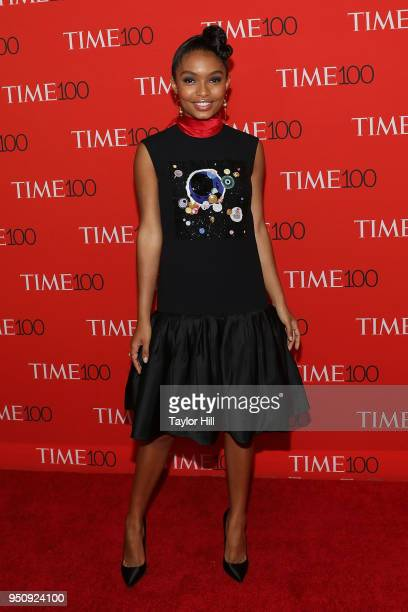 Yara Shahidi attends the 2018 Time 100 Gala at Frederick P. Rose Hall, Jazz at Lincoln Center on April 24, 2018 in New York City.