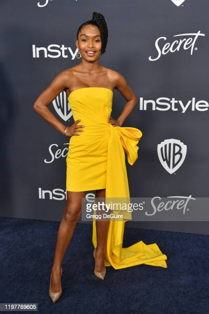 Yara Shahidi attends the 21st Annual Warner Bros And InStyle Golden Globe After Party at The Beverly Hilton Hotel on January 05 2020 in Beverly Hills...