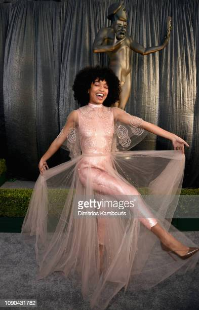 Yara Shahidi attends the 25th Annual Screen Actors Guild Awards at The Shrine Auditorium on January 27 2019 in Los Angeles California 480595