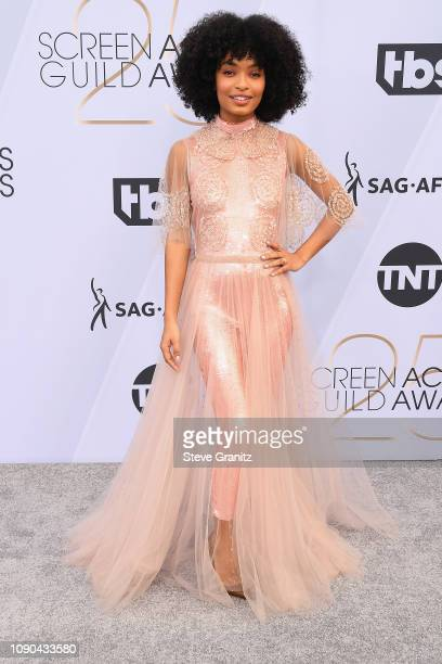 Yara Shahidi attends the 25th Annual Screen Actors Guild Awards at The Shrine Auditorium on January 27, 2019 in Los Angeles, California.