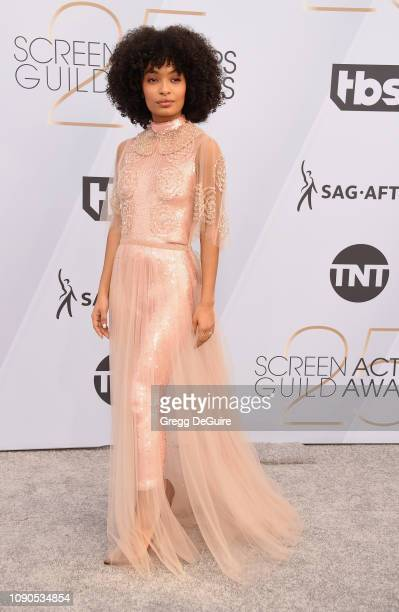 Yara Shahidi attends the 25th Annual Screen Actors Guild Awards at The Shrine Auditorium on January 27 2019 in Los Angeles California 480645