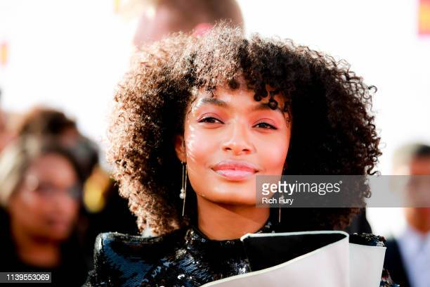 Yara Shahidi attends the 50th NAACP Image Awards at Dolby Theatre on March 30 2019 in Hollywood California
