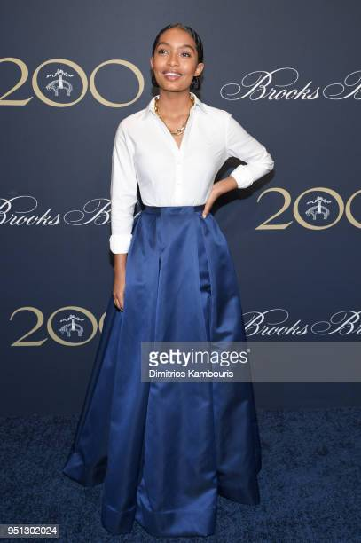Yara Shahidi attends the Brooks Brothers Bicentennial Celebration at Jazz At Lincoln Center on April 25 2018 in New York City