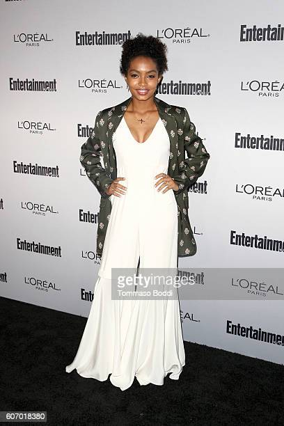 Yara Shahidi attends the Entertainment Weekly's 2016 PreEmmy Party held at Nightingale Plaza on September 16 2016 in Los Angeles California