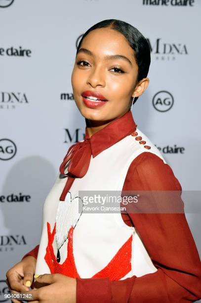 Yara Shahidi attends the Marie Claire's Image Makers Awards 2018 at Delilah LA on January 11 2018 in West Hollywood California