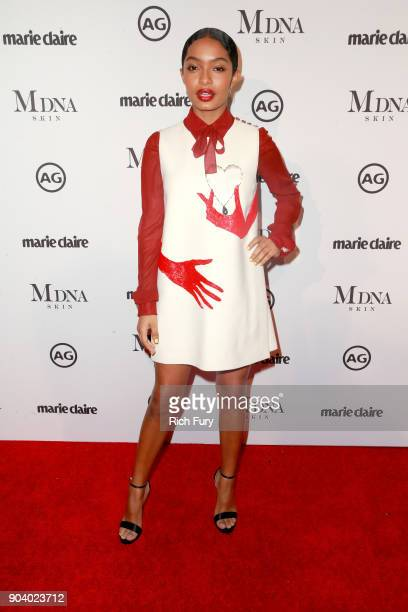 Yara Shahidi attends the Marie Claire's Image Makers Awards 2018 on January 11 2018 in West Hollywood California