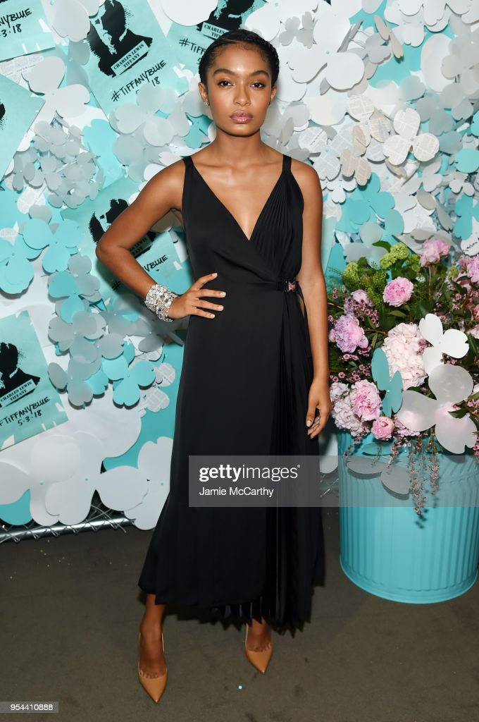 Yara Shahidi attends the Tiffany & Co. Paper Flowers event and Believe In Dreams campaign launch on May 3, 2018 in New York City.