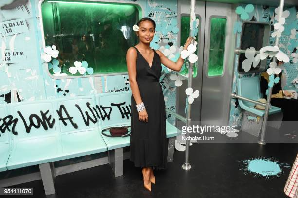 Yara Shahidi attends the Tiffany Co Paper Flowers event and Believe In Dreams campaign launch on May 3 2018 in New York City