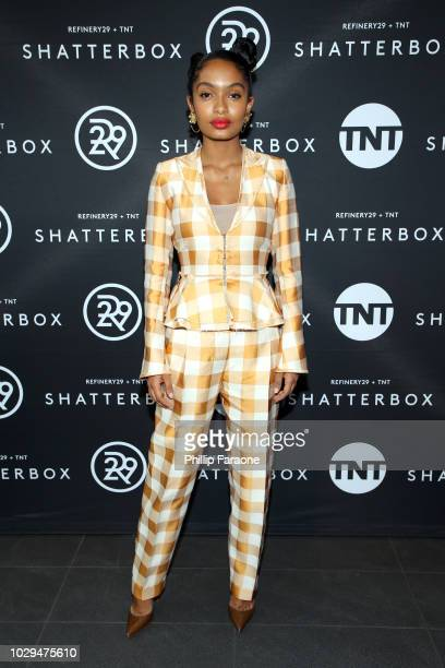 Yara Shahidi celebrates Shatterbox with Refinery 29 and TNT during 2018 Toronto International Film Festival at TIFF Bell Lightbox on September 8 2018...