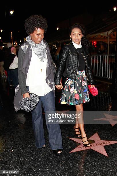 Yara Shahidi is seen in Hollywood on March 01 2015 in Los Angeles California