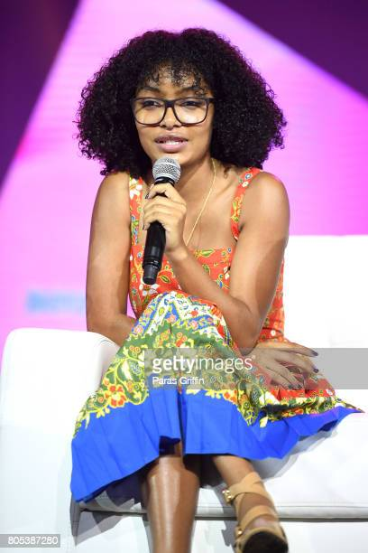 Yara Shahidi speaks onstage at the 2017 ESSENCE Festival presented by CocaCola at Ernest N Morial Convention Center on July 1 2017 in New Orleans...